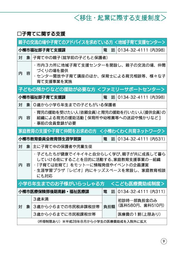 小樽移住・起業支援ハンドブック-11