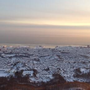 2月の小樽view