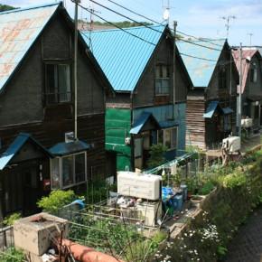 緑町1丁目の三角の家