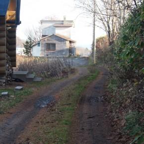 梅ヶ枝のお家への道のり