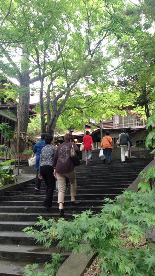 海陽亭 階段