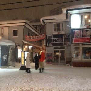 堺町通りの小樽出世前広場