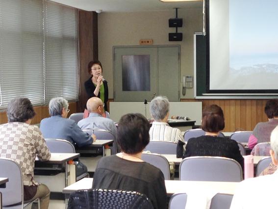 小樽生涯学習プラザ講義風景
